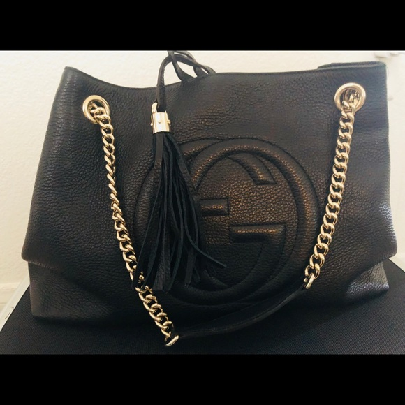 e6f35daaa660 Gucci Handbags - AUTHENTIC GUCCI SOHO TOTE